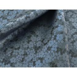 後染めキュプラ(ベンベルグ®)  花柄ジャカード
