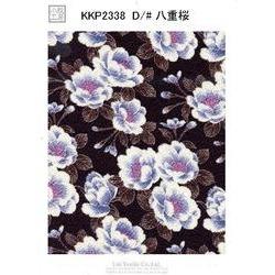 二越ちりめん和柄プリント(八重桜)